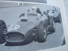 Stirling Moss Formula One race car driver Hof Motor Sport Vintage Book 1958