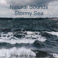 NATURAL SOUNDS STORMY SEA CD CALM RELAXATION TINNITUS DEEP SLEEP STRESS NATURE