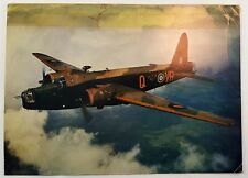 Vickers Armstrong Wellington III Bomber Aircraft WWII Real Picture Postcard 1942