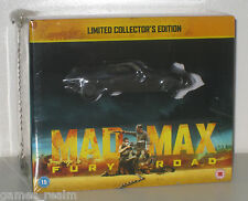 MAD MAX FURY ROAD collectors edition blu ray + 2D Interceptor Model Box Limited