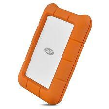 4TB LaCie disco duro externo Mini robusto - USB 3.1 tipo C, naranja