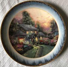 Julianne's Cottage 1998 Thomas Kinkade Peaceful Retreats 2nd Issue Lenox Plate