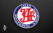 Jaf Jdm Deriva Coche Decal Sticker | | Vinilo | Japón automóvil Federación Turbo