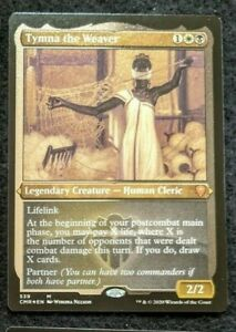 MtG: 1x Tymna the Weaver Etched Foil NM (Commander)