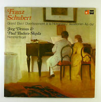 "2 x 12"" LP - Franz Schubert - Grand Duo - B3958 - washed & cleaned"