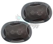 """NEW LANZAR MX573 Max Series 5x7"""" 6x8"""" 440 Watts 3 Way Triaxial Car Speakers Pair"""