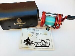 Abu Ambassadeur 6000 Casting Reel - with case and spare parts