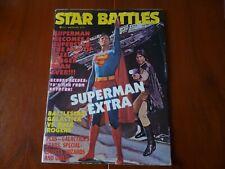 STAR BATTLES WINTER 1978 SUPERMAN BATTLESTAR GALACTICA BUCK ROGERS WATERSHIP DOW