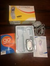 Samsung Sgh-X427M X427 Cell Phone Tested Works With Power Cord Bundled Cingular