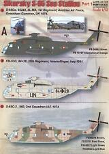 Print Scale Decals 1/72 Sikorsky S-65 Sea Stallion Helicopter Part 1