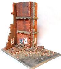"Dioramas Plus 1/35 ""Stalingrad Shakedown"" Ruined Russian Building (w/Base) DP22"