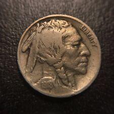 1918 S Two 2 Feathers Buffalo Nickel VF Very Fine FS401 San Francisco Variety 5c