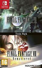 Final Fantasy 7 Vii & 8 Viii: Twin Pack - Nintendo Switch