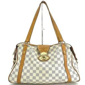 Louis Vuitton Stresa PM N42220 SHOULDER BAG AZUL #DX436-651