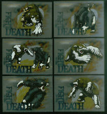 "The GOLDEN COMPASS (Inkworks/2007) Complete ""FIGHT TO THE DEATH"" Chase Card Set"