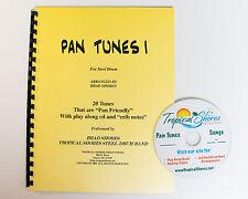 """Steel Drum Play Along Book """"Pan tunes 1"""""""