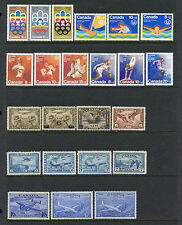 CANADA AIRMAIL & BACK OF BOOK COLLECTION MINT & USED