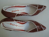 MISS SIXTY HEELS size US 9  EUR 40 NEW $99.99 HOT MADE IN ITALY