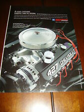 CHEVROLET ZZ 427 430 H.P. BIG BLOCK V-8 ***ORIGINAL 2008 AD***