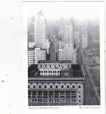 """""""View From Straus Building"""" -1929- /Route 66 In Chicago/ {Postcard} (#48)"""