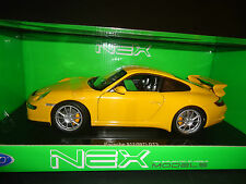 Welly Porsche 911 GT3 997 Yellow 1/18