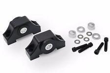 Billet Aluminum Engine Torque Mount Kit for Honda Civic EG7 EG8 EG9 92-95 Black