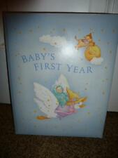 Hallmark Baby's First Years Album Mother Goose Vintage Nursery Rhyme 1980's Book