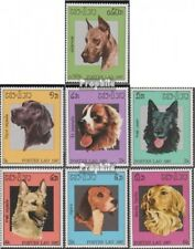 Laos 981-987 (complete issue) unmounted mint / never hinged 1987 Dogs