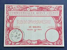 ST HELENA - Commonwealth Reply Coupon - Pristine Condition. Scarce