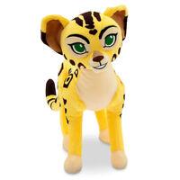 "Disney Store The Lion Guard Fuli Cheetah Plush Toy Doll Stuffed Animal 12 1/2"""