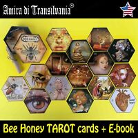 tarot card cards deck honey bee oracle guide book maior minor arcana vintage set
