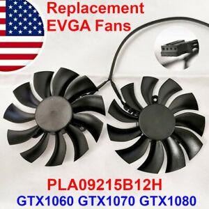 EVGA GTX1060 GTX1070 GTX1080 VGA GPU 4-pin Fan Replacement PLA09215B12H Video