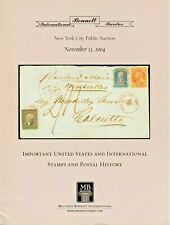 Important Us and International Stamps and Postal History - Matthew Bennett
