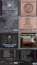 4 CD AOR, 2x lionville (I + II) + sonic station-Next stop + theander expression