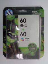 HP 60 Black Ink & Tri-Color Ink Cartridges