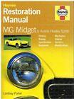 MG MIDGET MK 1 2 3 1500 & AUSTIN HEALEY MK 1 2 3 4 1958-1980 RESTORATION MANUAL