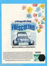 QUATTROR982-PUBBLICITA'/ADVERTISING-1982- FRESCOLINO AUTO  (versione B)