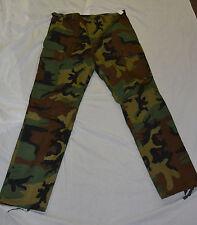 New woodland camo combat style pants size x-large (#bte75)