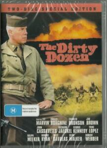 THE DIRTY DOZEN + THE DIRTY DOZEN THE NEXT MISSION - NEW DVD - FREE LOCAL POST