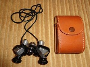 Super Zenith Vintage Coated Optics Binoculars 6x15 Field 7.3 With Case Excellent