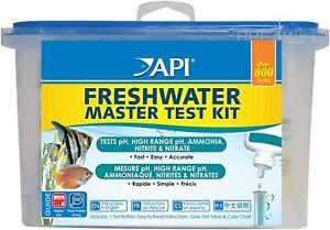 API-WATER TREATMENTS-WATER TESTS -AQUARIUM / POND- COLDWATER /TROPICAL FISH