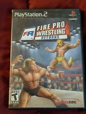 Fire Pro Wrestling Returns - Sony PlayStation 2, PS2 - Used
