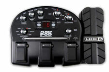 LINE 6 FLOOR POD GUITAR MULTI EFFECTS PEDAL PROCESSOR & POWER SUPPLY