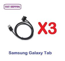 3 X Data Sync Charger Cable for Samsung Galaxy Tab P5100 N8000 P739 M190S