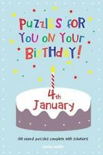 Puzzles for You on Your Birthday - 4th January by Clarity Media (2014,...