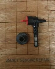 192980GS Fuel Shut Off Valve kit w/ Bushing, filter Briggs OEM (Soap Tank Valve)
