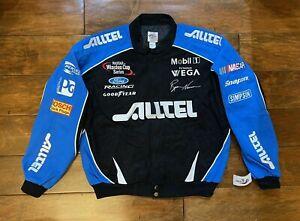 Ryan Newman Alltel Racing Jacket Mens Size Large NASCAR Rare New Penske Blue