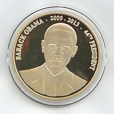 Medaille Barack Obama 44. Präsident der USA 2009-2014 Ø 38 mm 15 Gr. B58/01