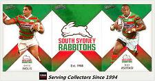 2011 Select NRL Strike Trading Cards Base Team Set Rabbitohs (12)