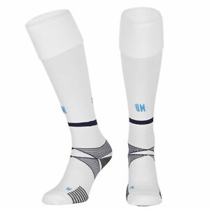 Olympique de Marseille Home Socks 2021-22 Knee High Football Trainig Sock